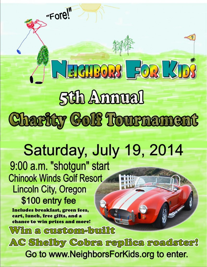 Flyer-2014 golf event