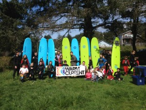Thanks to our Kids Zone partners, Warm Current, for our great Surf Camps!