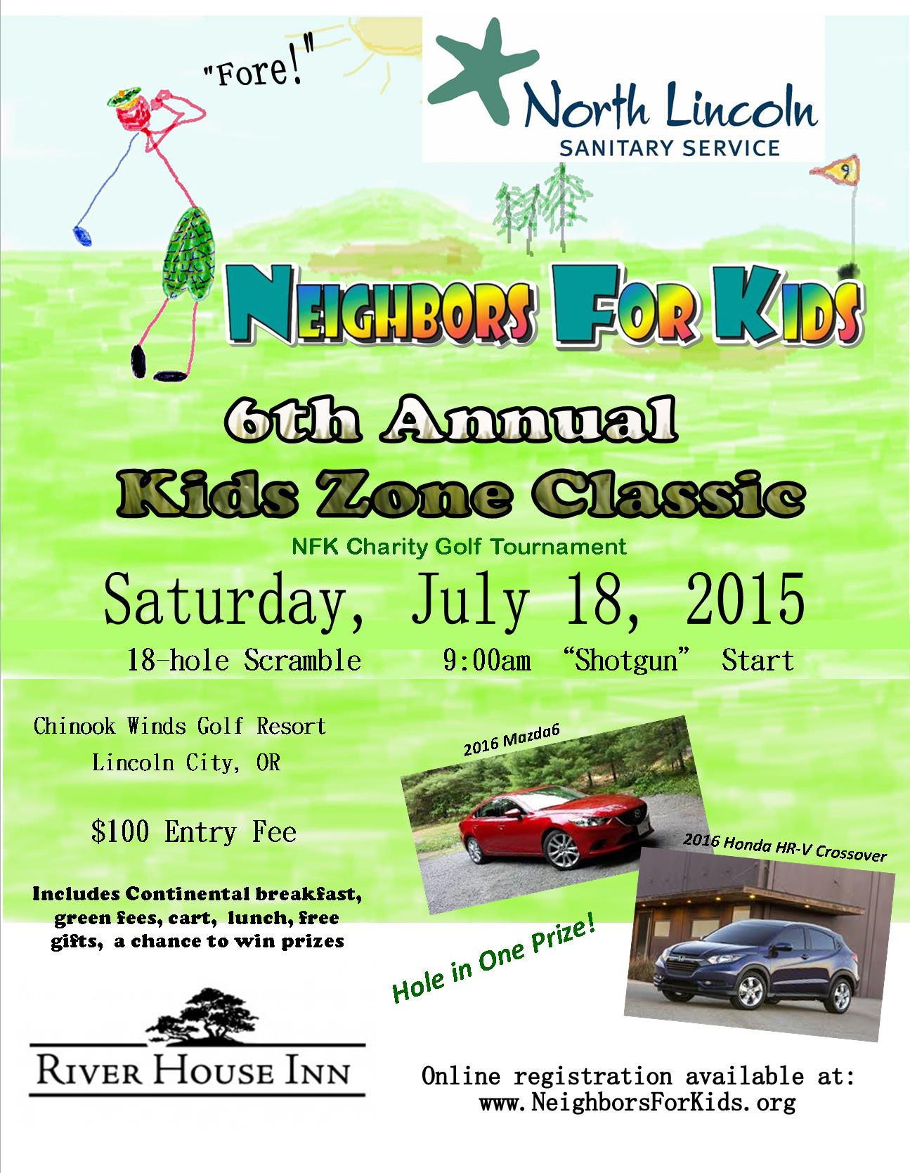 Flyer-2015 golf event