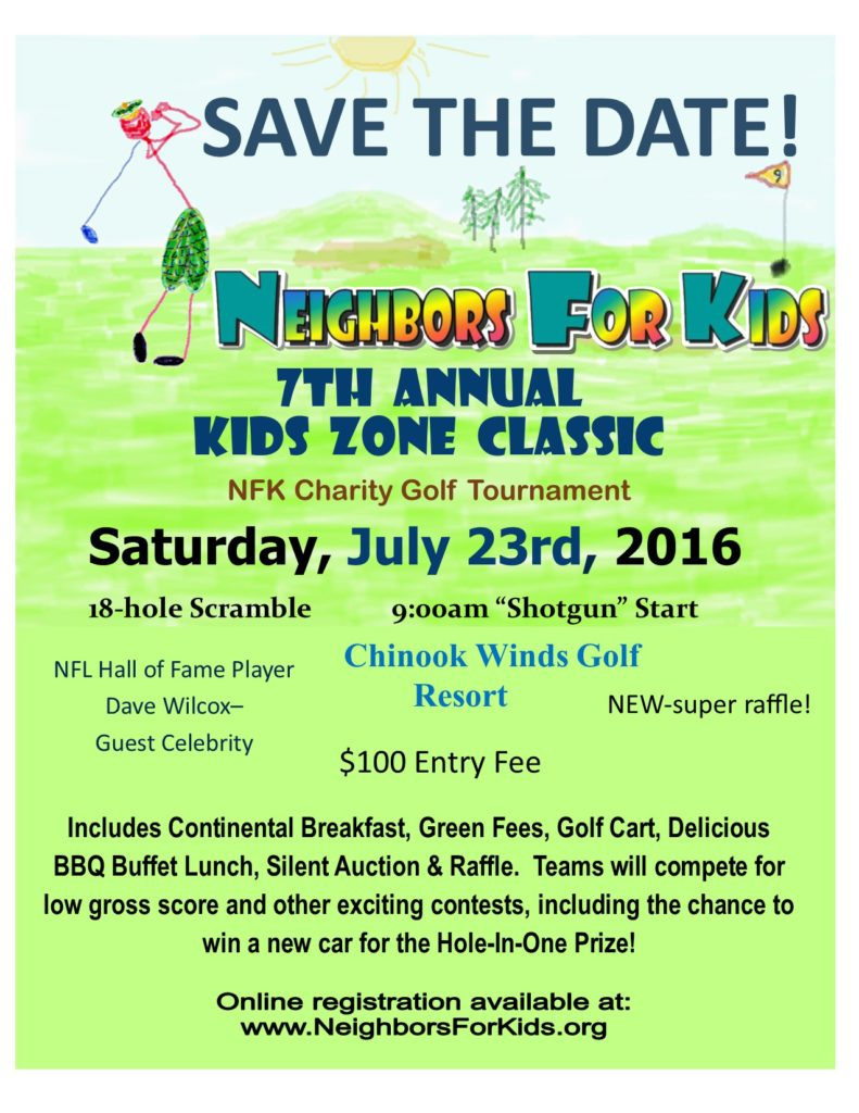 save the date flier 2016