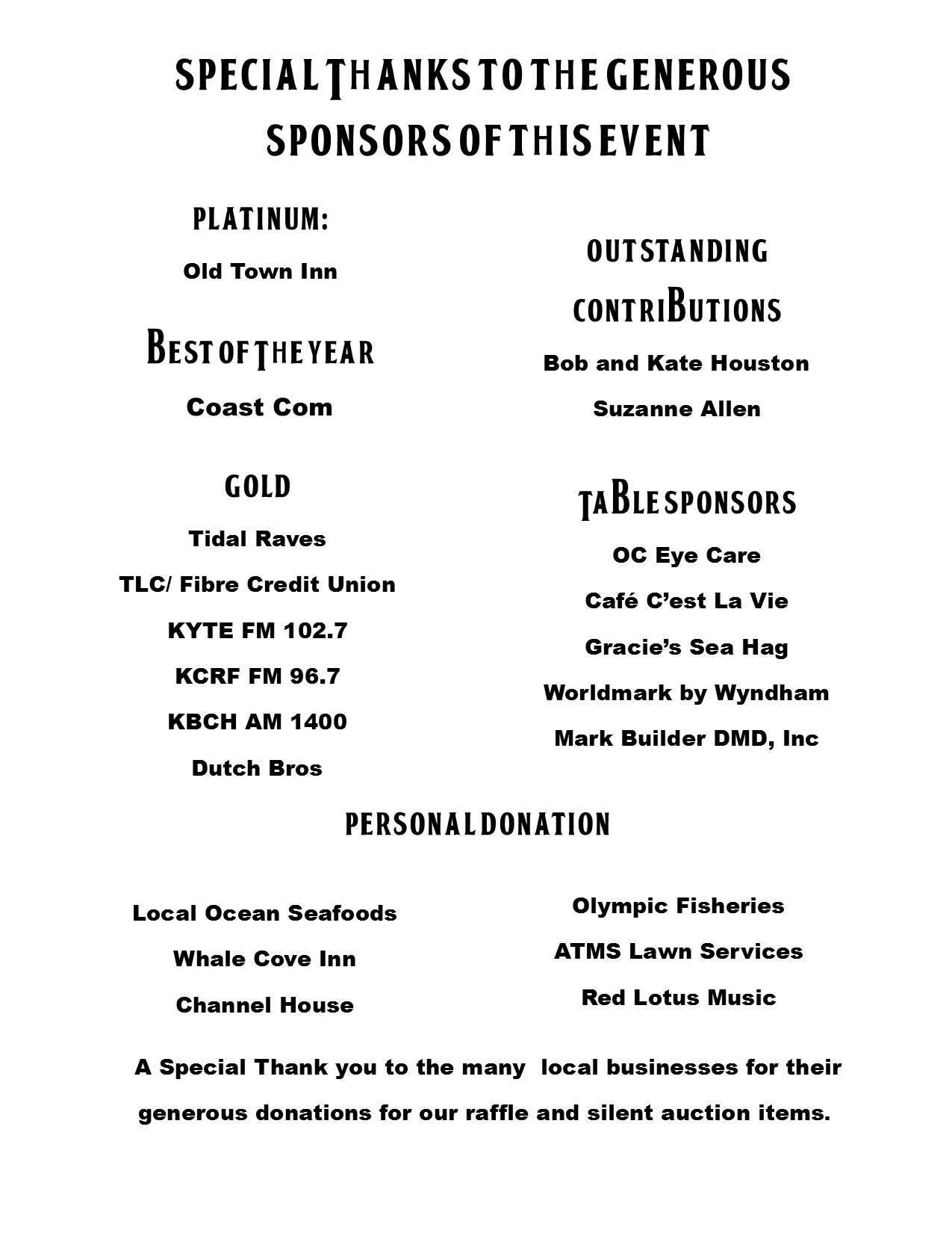 Beatlesfest program for FB